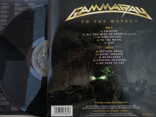 Lp Vinil Gamma Ray To The Metal