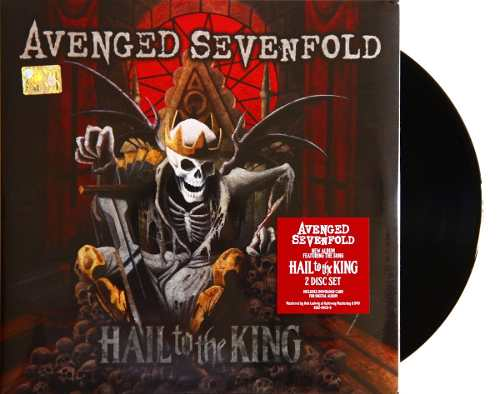 Lp Vinil Avenged Sevenfold Hail To The King