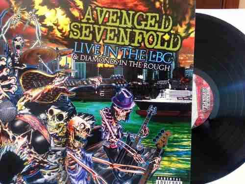 Lp Vinil + Dvd Avenged Sevenfold Live In The Lbc