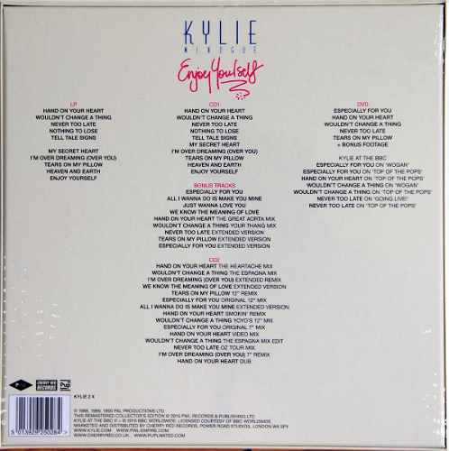 Lp Vinil Box Set Kylie Minogue Enjoy Yourself