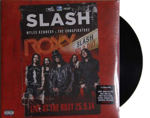 Lp Vinil Slash Live At The Roxy