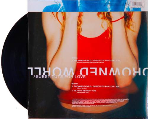 Lp Vinil Madonna Drowned World Substitute For Love