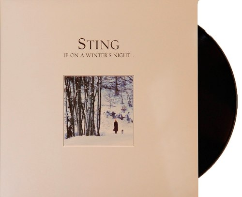 Lp Vinil Sting If On A Winters Night