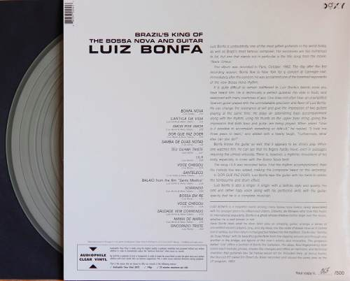 Lp Vinil Luiz Bonfa King Of Bossa Nova