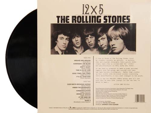 Lp Vinil The Rolling Stones 12x5