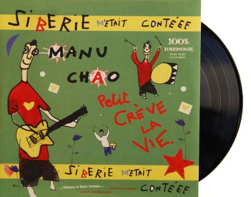 Lp Vinil + Cd Manu Chao Siberie Metait Conteee