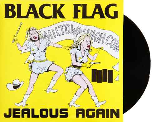 Lp Vinil Black Flag Jealous Again