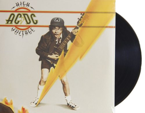 Lp Vinil ACDC High Voltage