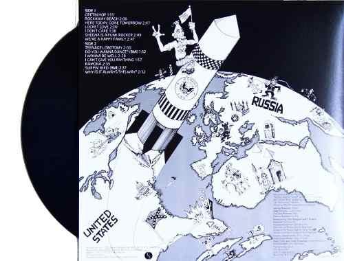 Lp Ramones Rocket To Russia