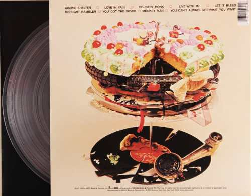 Lp The Rolling Stones Let It Bleed