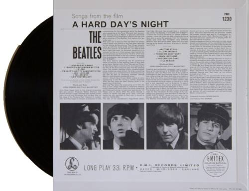 Lp Vinil The Beatles A Hard Days Night MONO