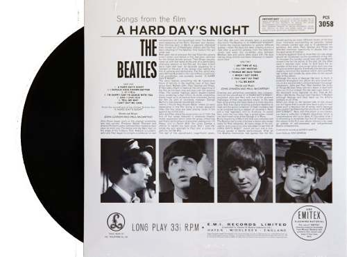 Lp Vinil The Beatles A Hard Days Night