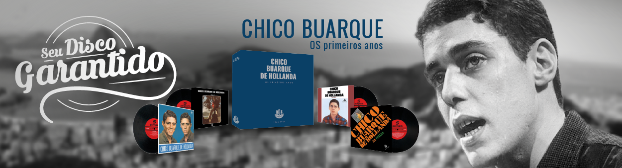 Lps Box Set Chico Buarque - Caixa