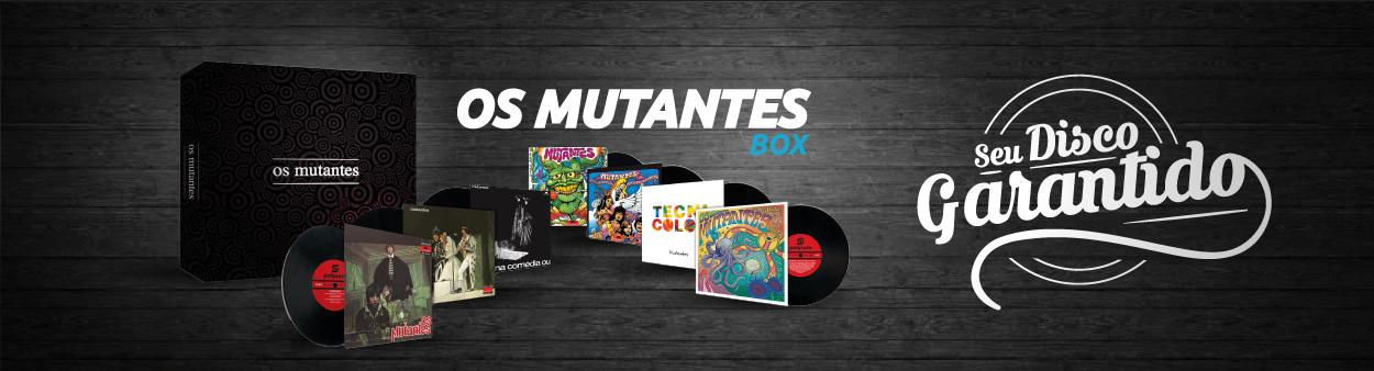 Lps Os Mutantes - Box Set - Caixa