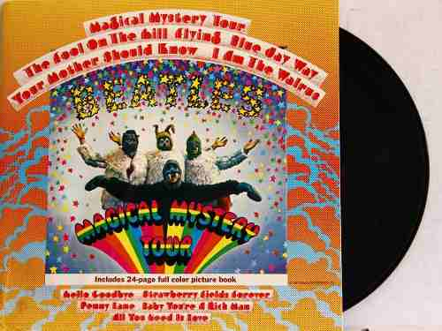 Lp The Beatles Magical Mystery Tour