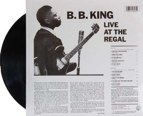 Lp Vinil BB King Live At The Regal