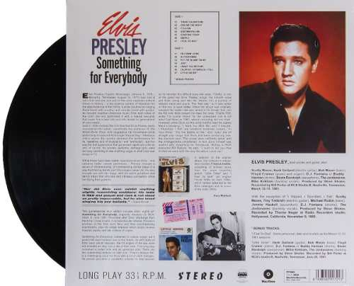 Lp Vinil Elvis Presley Something For Everybody