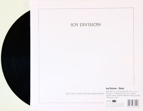 Lp Vinil Joy Division Closer