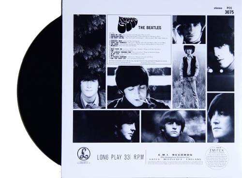 Lp Vinil The Beatles Rubber Soul Estereo