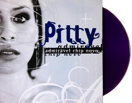 Lp Vinil Pitty Admirável Chip Novo