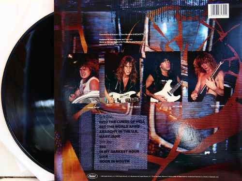Lp Vinil Megadeth So Far, So Good... So What!