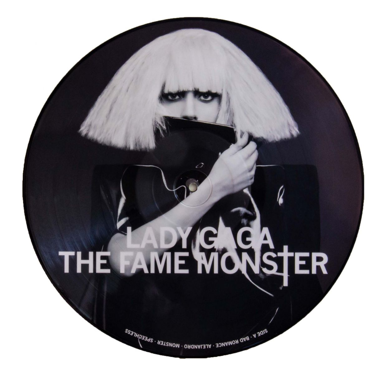 Lp Vinil Picture Disc Lady Gaga The Fame Monster