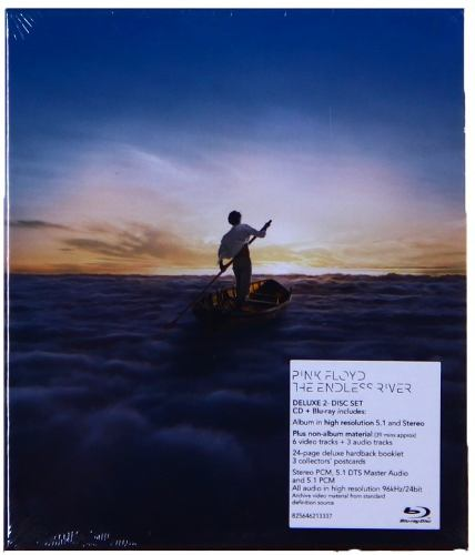 Dvd Blu-ray + Cd Pink Floyd The Endless River
