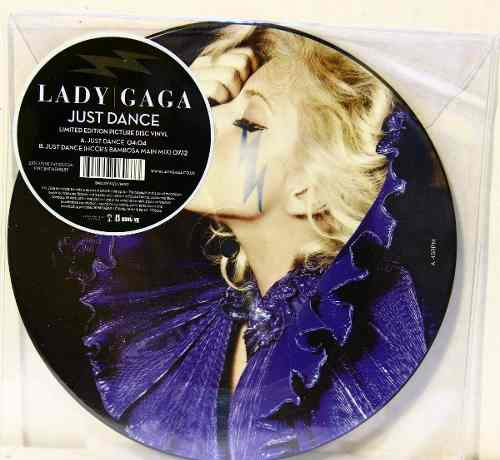 Lp Vinil Compacto Picture Disc Lady Gaga Just Dance