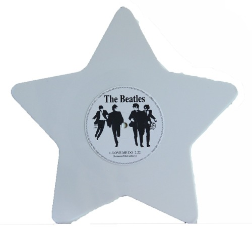 Lp Vinil The Beatles Love Me Do Formato Estrela