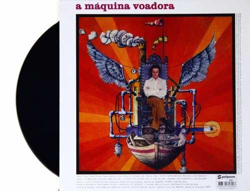 Lp Vinil Ronnie Von A Maquina Voadora