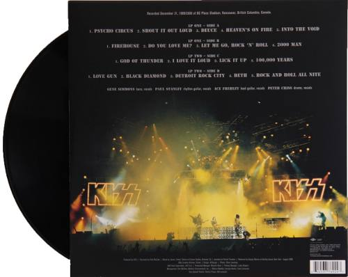 Lp Vinil Kiss Alive The Millennium Concert