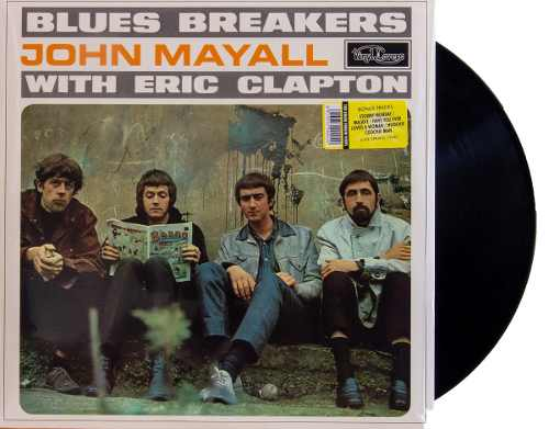 Lp Vinil John Mayall With Eric Clapton Blues Breakers