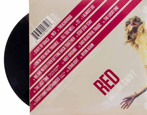 Lp Vinil Taylor Swift Red
