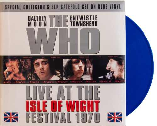 Lp Vinil The Who Live At The Isle Of Wright Festival 1970