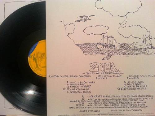 Lp Vinil Neil Young & Crazy Horse Zuma