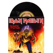 Lp Vinil Compacto Iron Maiden The Number Of The Beast