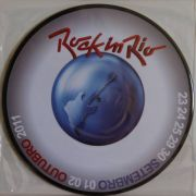 Lp Vinil Picture Disc Rock In Rio 2011