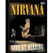 Caderno Tilibra Nirvana 10 Matérias 200 Folhas Live At Reading