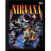 Caderno Tilibra Nirvana 10 Matérias 200 Folhas Unplugged