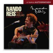 Lp Vinil Nando Reis Voz E Violão No Recreio Vol. 1 AUTOGRAFADO