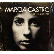 Cd Marcia Castro De Pés No Chão