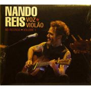 Cd Nando Reis Voz E Violão No Recreio Vol. 1