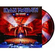 Lp Vinil Picture Disc Iron Maiden En Vivo