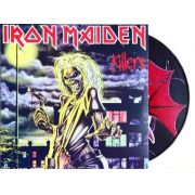 Lp Vinil Picture Disc Iron Maiden Killers