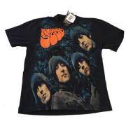 Camiseta Premium The Beatles Rubber Soul