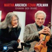 Cd Martha Argerich & Itzhak Perlman Schumann, Bach, Brahms