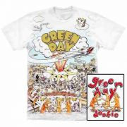 Camiseta Premium Green Day Dookie