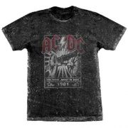 Camiseta Especial AC/DC For Those About To Rock