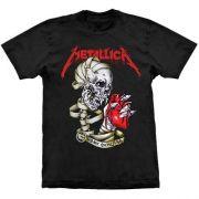Camiseta Metallica Heart Explosive