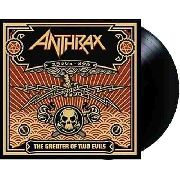 Lp Vinil Anthrax The Greater Of Two Evils ---